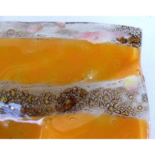 Mid-Century Modern Bent Glass Dish - Image 4 of 9