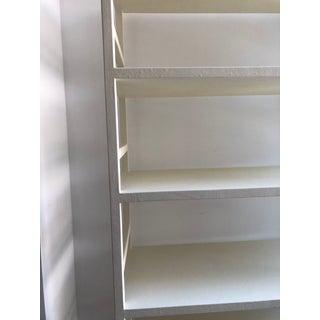 White Linen Bookcase Preview