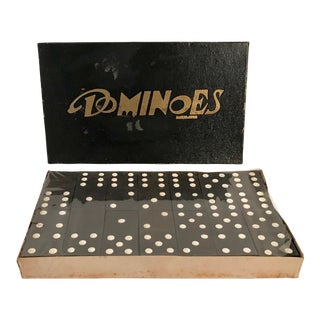 Vintage Wooden Dominoes For Sale