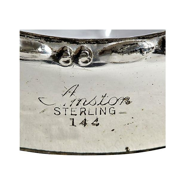 Sterling Silver & Glass Coasters - Set of 5 - Image 3 of 3
