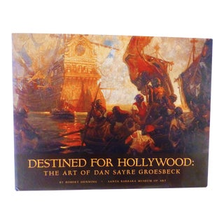 """Destined for Hollywood: The Art of Dan Sayre Groesbeck"" Book"