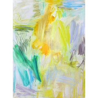 """Malibu"" by Trixie Pitts Large Abstract Expressionist Oil Painting For Sale"