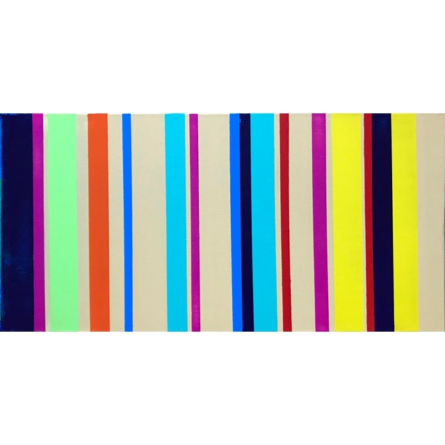 Rhythm No. 13 Acrylic Painting For Sale - Image 4 of 4