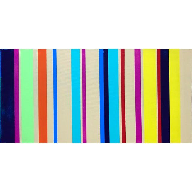 Rhythm No. 13 Acrylic Painting - Image 4 of 4