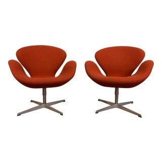 Authentic Arne Jacobsen for Fritz Hansen Swan Chair For Sale