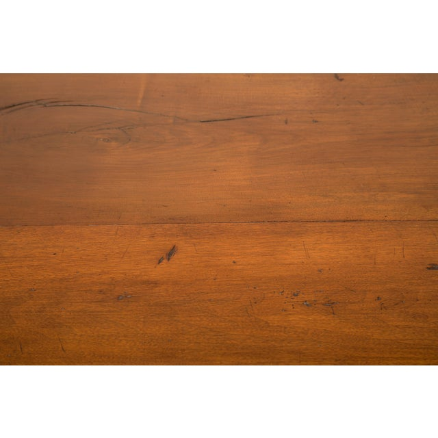 French Inspired Walnut Dining Table For Sale - Image 4 of 11