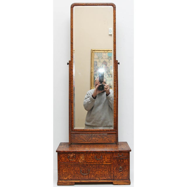 Wood 19th Century Dressing Table Mirror For Sale - Image 7 of 7