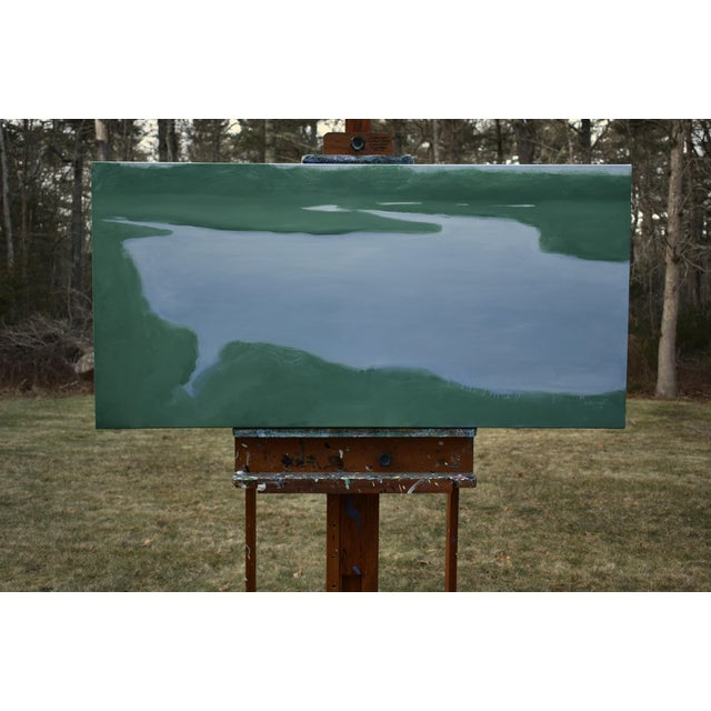Salt Water Inlet Landscape Painting For Sale In Providence - Image 6 of 9
