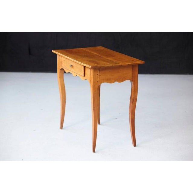 19th Century French Provincial Fruitwood Occasional Table For Sale - Image 4 of 10