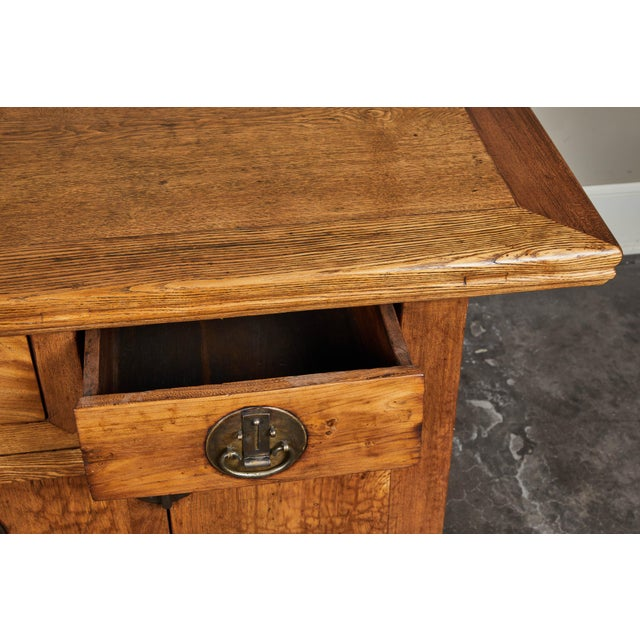 19th C. Chinese Elm Sideboard For Sale In Los Angeles - Image 6 of 9
