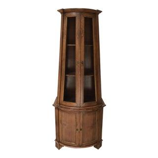1960s Italian Curio Etagere Cabinet For Sale