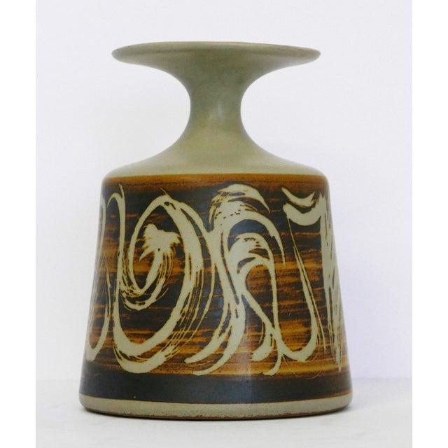 Ceramic Designs West, Ca Stoneware Vessel For Sale - Image 7 of 7