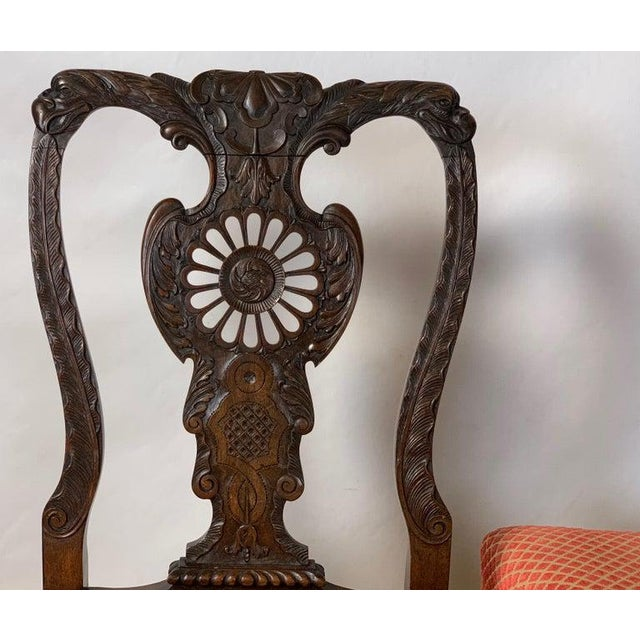 Mid-19th Century Chippendale Style Carved Mahogany Side Chairs For Sale In Richmond - Image 6 of 13