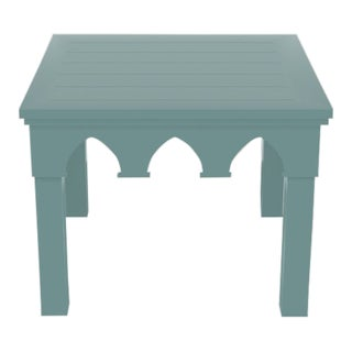 Oomph Ocean Drive Outdoor Side Table, Green For Sale