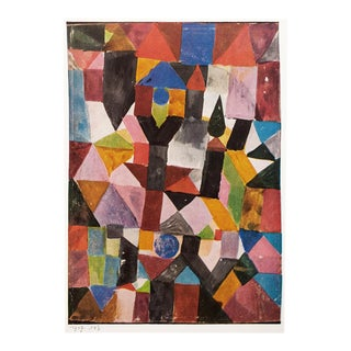 "1958 Paul Klee ""Invention (With the Dovecote)"", First English Edition Lithograph For Sale"