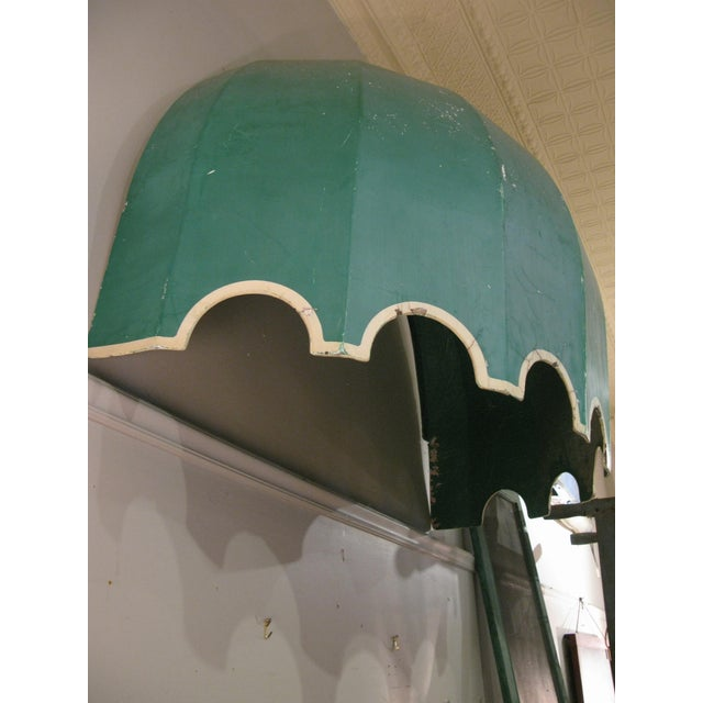 1960s Vintage Fiberglass Canopy Awning For Sale - Image 5 of 6