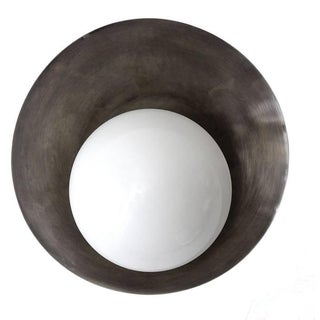 """Concha"" Wall Light in Nickel"