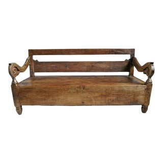 Antique Javanese Bench For Sale