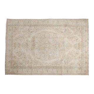 "Vintage Oushak Carpet - 6'10"" x 10'2"""