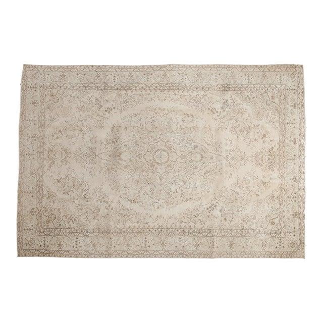"Vintage Oushak Carpet - 6'10"" x 10'2"" - Image 1 of 12"