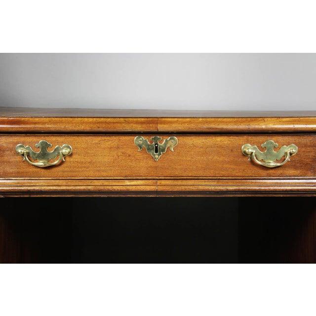 George III Mahogany Partners Desk For Sale - Image 4 of 8