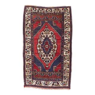 "Anatolian Vintage Turkish Rug, 4'11"" x 11'0"" feet"
