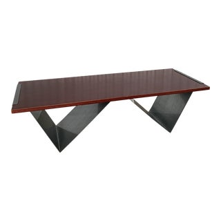 Modern BluDot Clip Coffee Table For Sale