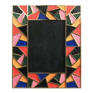 Multi-Color Crocodile Photo Frame by Fabio Ltd For Sale