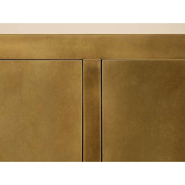 Early 21st Century Custom Solid Bronze Buffet in the Style of Christian Maas For Sale - Image 5 of 7