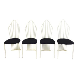 Vintage Art Deco Dining Chairs - Set of 4
