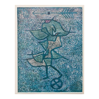 "1958 Paul Klee, Vintage English ""Diana"" Lithograph For Sale"