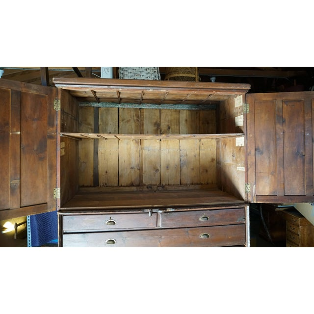 19th Century Welsh Train Station Cabinet For Sale In Los Angeles - Image 6 of 10