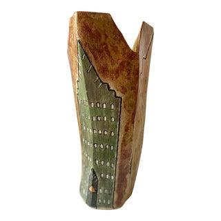 Art Modern Pottery Vase For Sale