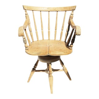 Antique Danish Desk Chair