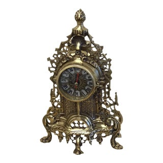 French Style Clock For Sale