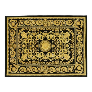 Vintage Indian Rug With French Baroque Style - 08'08 X 11'06 For Sale