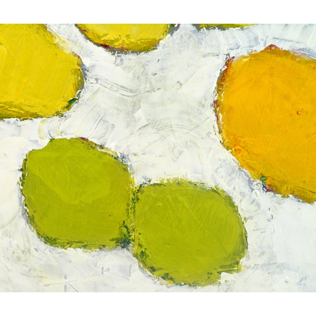Early 21st Century 'Color Composition' Original Abstract Painting by Lars Hegelund For Sale - Image 5 of 12