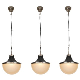 1960s Vintage Sergio Mazzafor Artemide 'Pi' Pendants - Set of 3 For Sale