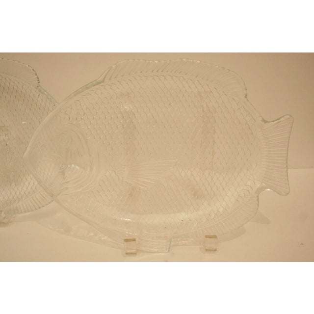Glass Fish Dishes - A Pair - Image 4 of 5