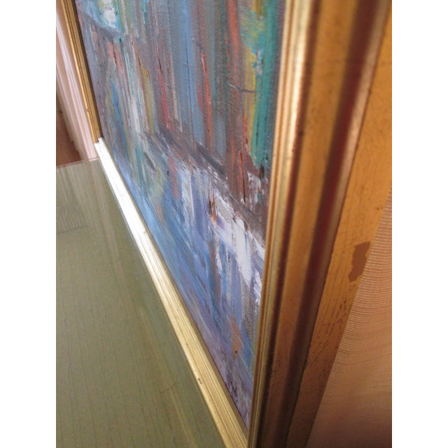 Fran Oliver Modern Seascape Painting For Sale - Image 5 of 6