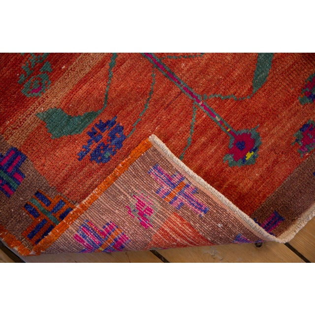 """Red Vintage Distressed Oushak Rug - 2'4"""" X 3'7"""" For Sale - Image 8 of 10"""