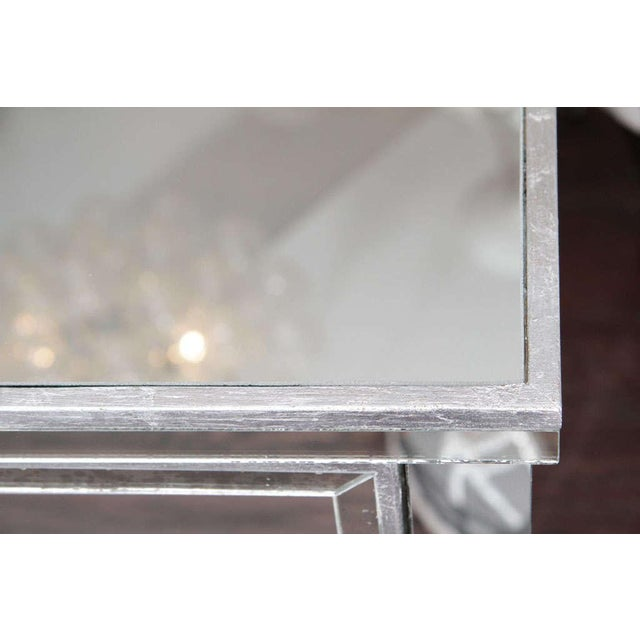 Pair of Three-Drawer Mirrored Commodes For Sale In New York - Image 6 of 10