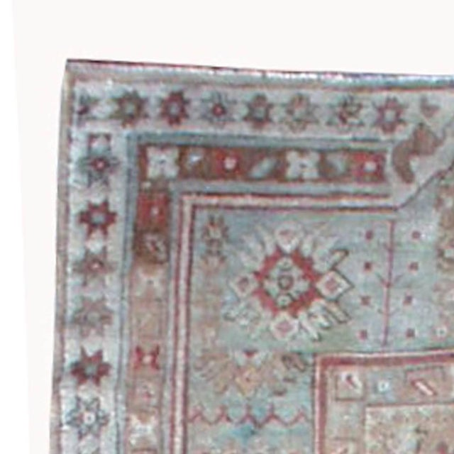 Islamic Antique Turkish Ghiordes Rug For Sale - Image 3 of 9
