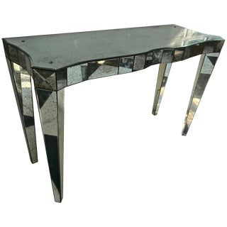 Mirrored Console Table For Sale