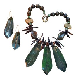 Image of Green Necklaces