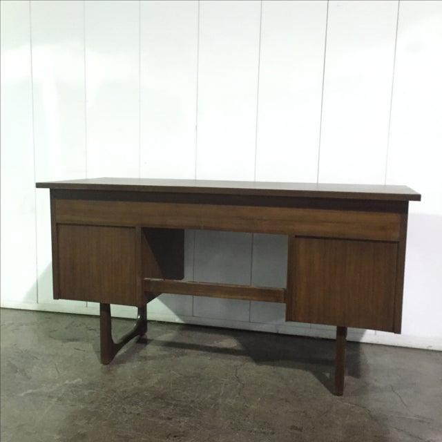 Mid-Century Danish Style Executive Desk - Image 5 of 5