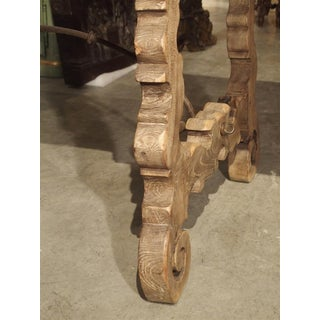 Antique Single Plank Chestnut Table From Spain Preview