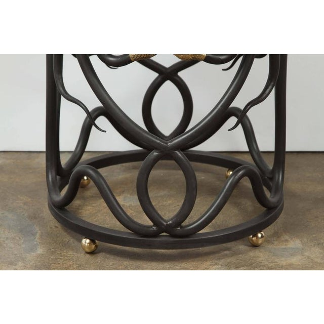 Paul Marra Snake Side Table by Paul Marra For Sale - Image 4 of 7