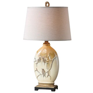 Birds on a Branch Table Lamp For Sale