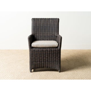 Modern Parsons Cushion Arm Chair Preview